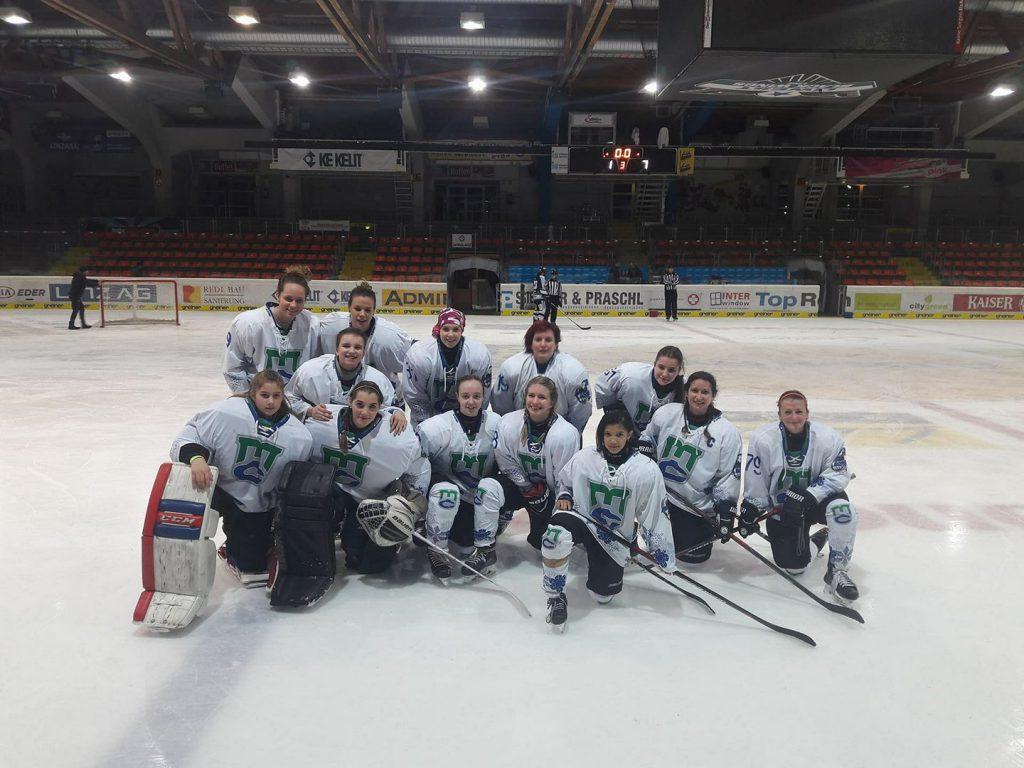 Győzelemmel zárta DEBL túráját Marilyn A csapatunk DHC Ice Cats Linz – MAC-Marilyn 1:7