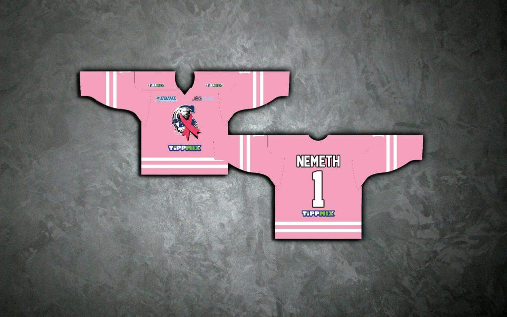 Rózsaszín október a MAC Budapest Marilyn csapatánál!