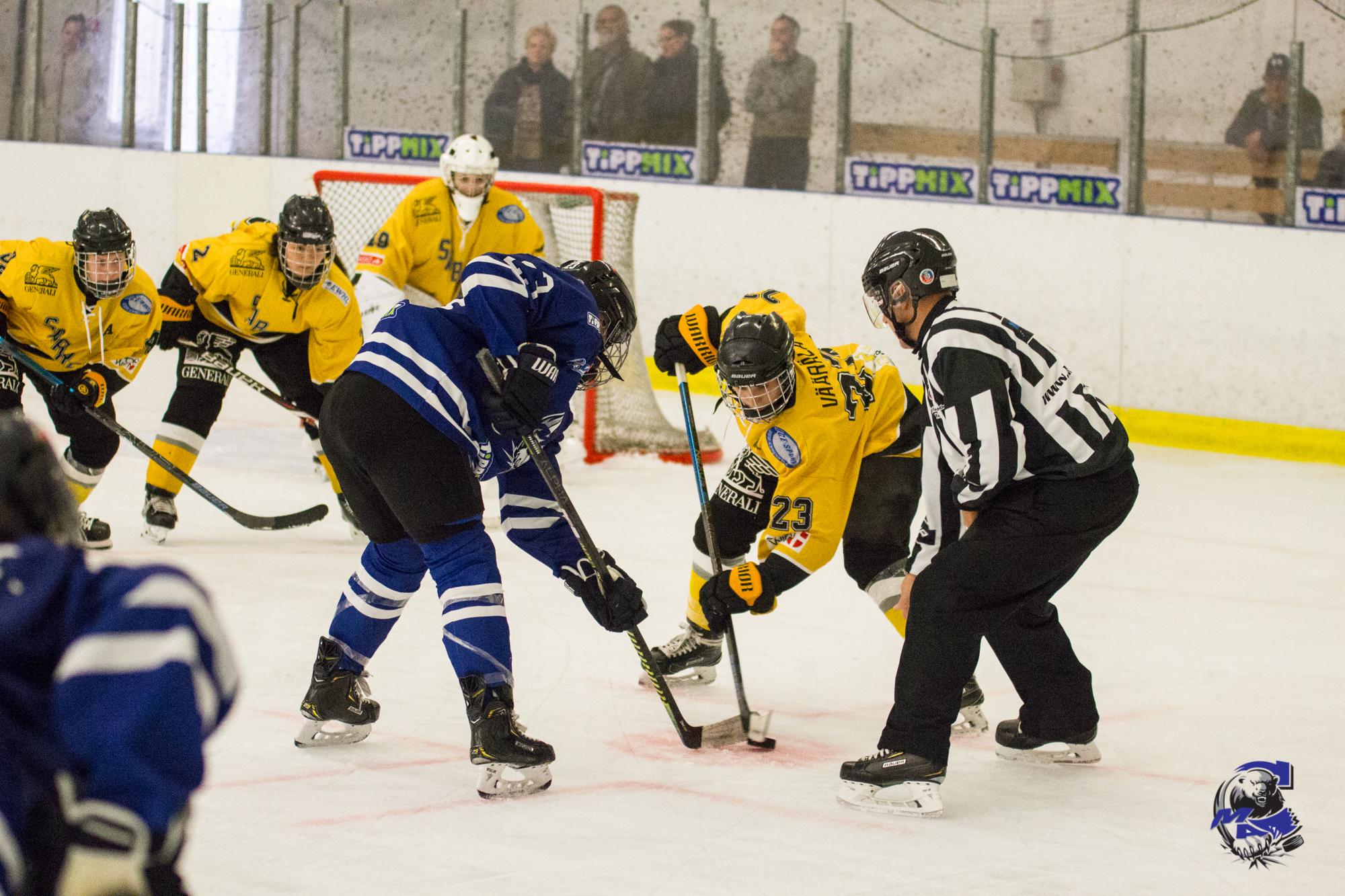 Egy DEBL és egy EWHL mérkőzés Bécsben a hétvégén