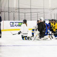 Rendhagyó edzés EWHL csapatunknál